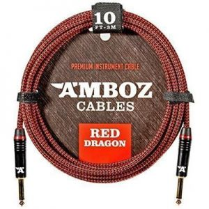AMBOZ CABLES Red Dragon Guitar Cable