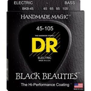 DR Strings Bass Strings, Black Beauties