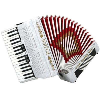 D_Luca D3472-WH Grand Piano Accordion