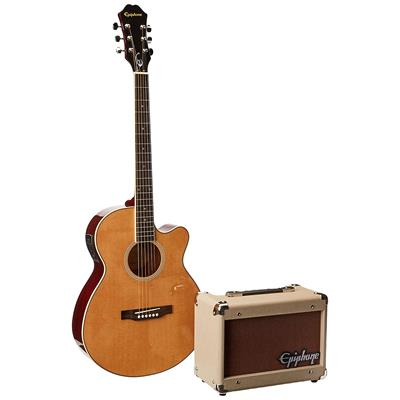 Epiphone PR-4E Acoustic-Electric Guitar Player Package