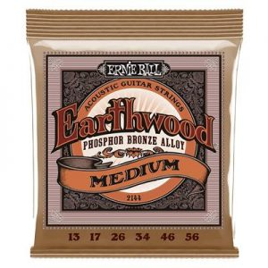 Ernie Ball Earthwood Medium Phosphor Bronze Acoustic String Set