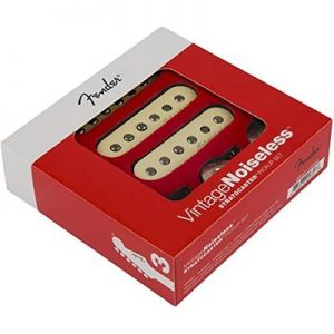 Fender Vintage Noiseless Stratocaster Pickups Set White