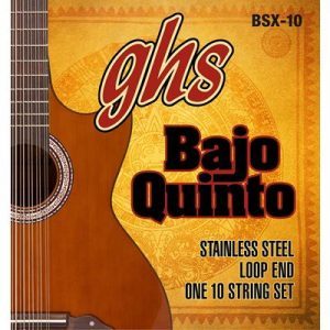 GHS Strings BSX-10 STAINLESS STEEL BAJO QUINTO Strings