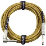 GLS Audio 20 Foot Guitar Cable - Right Angle to Straight
