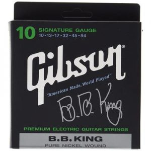 Gibson Gear SEG-BBS Nickel Plated Electric Guitar Strings, Extra Heavy