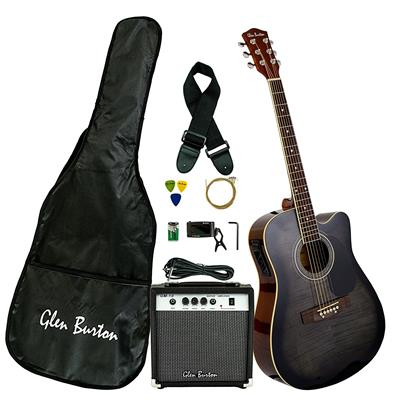 Glen Burton GA204BCO-BK Bundle