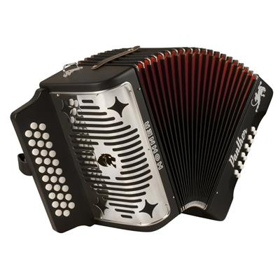 Hohner Panther G-C-F 3-Row Diatonic Accordion