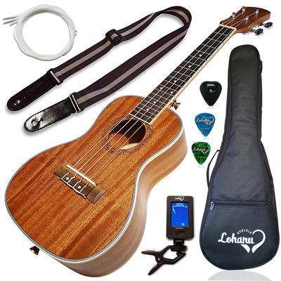Lohanu Concert Size Ukulele Bundle From (LU-C)