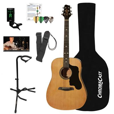 Sawtooth Acoustic Dreadnought Guitar Bundle