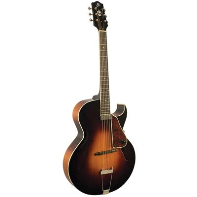 The Loar LH‌-350-VS Hand-Carved