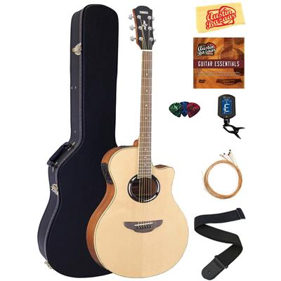 Yamaha APX500III Thinline Cutaway Guitar Bundle