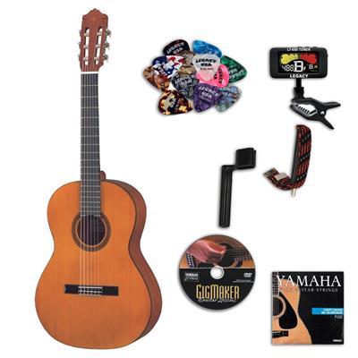 Yamaha CGS102AII 1-2 Size Classical Acoustic Guitar Bundle