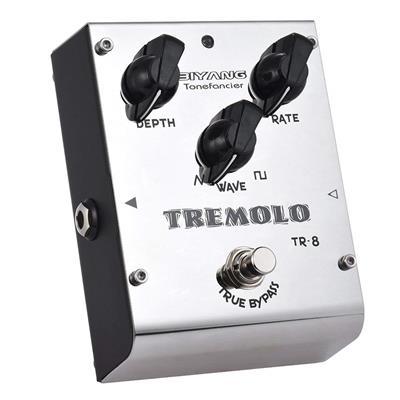 Biyang TR-8 Tremolo Guitar Effects Pedal