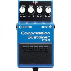 Boss CS‌-3 Compressor-Sustainer Pedal