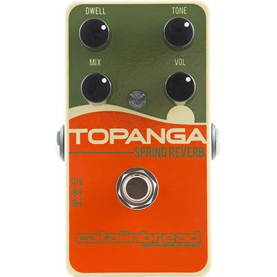 Catalinbread Topanga Spring Reverb Effect Pedal