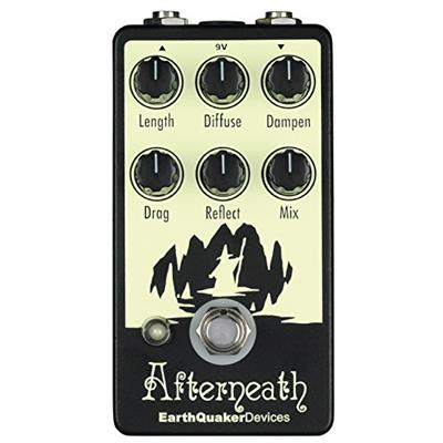 EarthQuaker Devices Afterneath Reverberation Effects Pedal