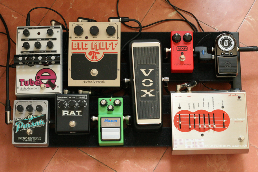 Guitar Effects Pedal Guide