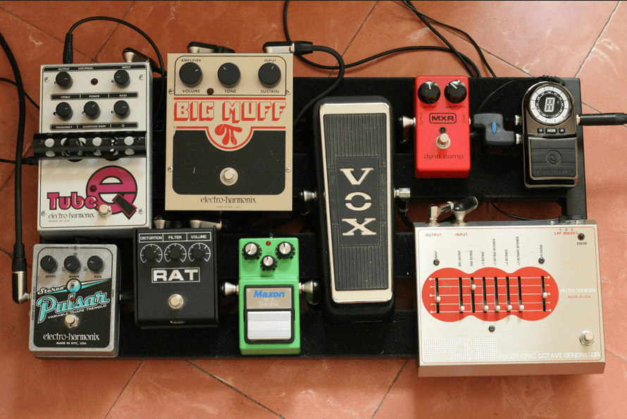 Guitar Effects Pedals Guide