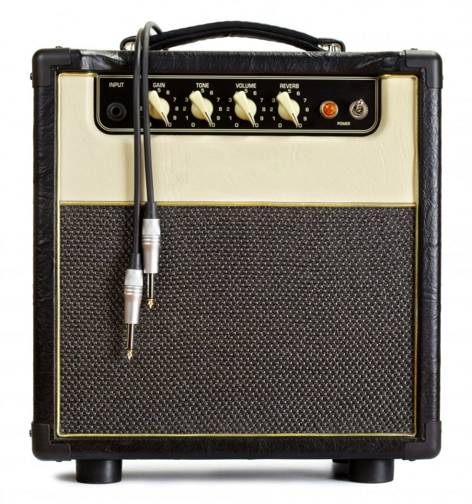 Small guitar amp for home