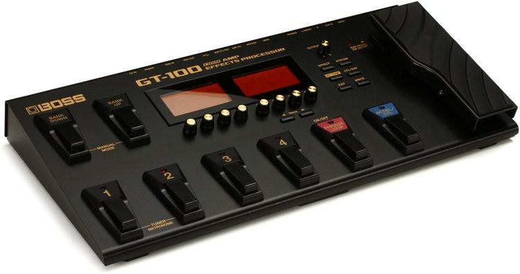 Boss GT-100 Guitar Multi-effects Pedal