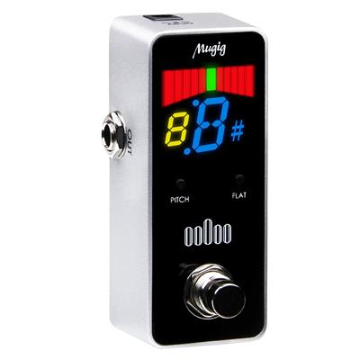 mugig chromatic tuner pedal for guitar bass review 2019. Black Bedroom Furniture Sets. Home Design Ideas
